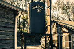 Jack Daniels Distillery Royaltyfria Bilder