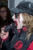 Jack Daniels Sitges Zombie Walk imagenes de archivo