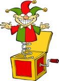 Jack in de doos stock illustratie