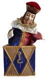 Jack in de doos royalty-vrije stock afbeelding