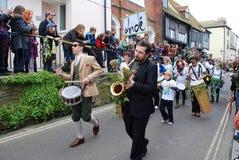 Jack en el festival verde, Hastings Imágenes de archivo libres de regalías