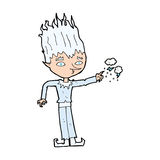jack frost cartoon Royalty Free Stock Images