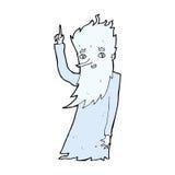 jack frost cartoon Stock Image