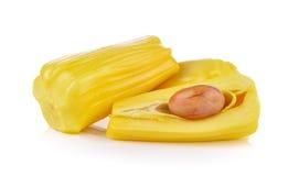 Jack-Frucht auf weißem Hintergrund Lizenzfreies Stockbild