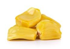 Jack-Frucht auf weißem Hintergrund Lizenzfreies Stockfoto