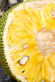 Jack-Frucht geschnitten Stockfoto