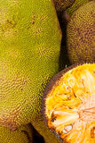 Jack fruit. At the market in Thailand Royalty Free Stock Images