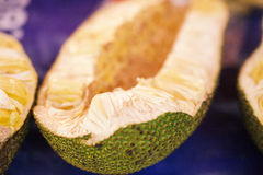 Jack fruit, bread for the poor. Exotic fruit stock images