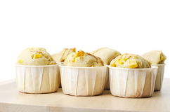 Jack fruit muffins. Delicious fresh baked jack fruit muffins Stock Photos