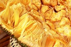 Jack fruit op de markt Royalty-vrije Stock Fotografie