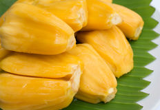Jack fruit. Sweet taste in the dish Stock Photography