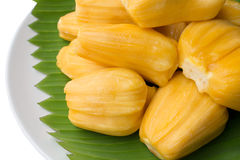 Jack fruit. Sweet taste in the dish Stock Images