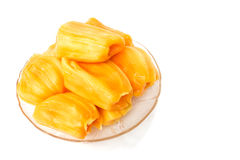 Jack fruit on white background. Royalty Free Stock Image