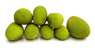Jack fruit on white background Stock Photos
