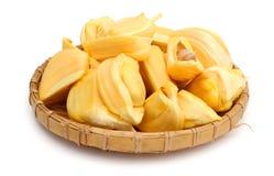 Jack fruit on white background Stock Images