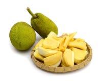 Jack fruit on white background Stock Image