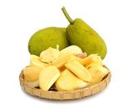 Jack fruit on white background Stock Photography