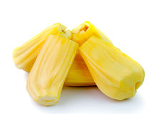 Jack-frutos no fundo branco Foto de Stock