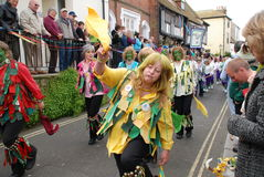 Jack In The Green festival, Hastings Royalty Free Stock Photography