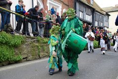 Jack In The Green festival, Hastings Stock Images