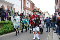 Jack In The Green festival, Hastings Royalty Free Stock Images