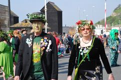 Jack In The Green festival, Hastings Royalty Free Stock Photo