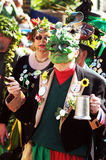 Jack the Green Festival in Hastings, UK Royalty Free Stock Image