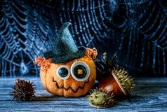 Jack Halloween i pajęczyna Obrazy Stock