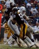 Jack Ham Pittsburgh Steelers. Former Pittsburgh Steelers linebacker Jack Ham. (Image taken from color slide Royalty Free Stock Photo