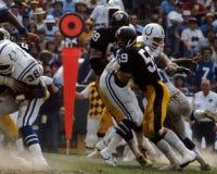 Jack Ham Pittsburgh Steelers. Former Pittsburgh Steelers linebacker Jack Ham. (Image taken from color slide Royalty Free Stock Images