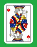 Jack of hearts Stock Images