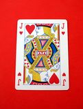 Jack of hearts card. playing card. gambling Stock Photos