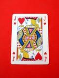 Jack of hearts card. playing card. gambling. Gambling or a playing card of jack of  hearts Stock Photos