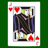 Jack hearts. Card suit icon , playing cards symbols vector illustration