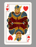 Jack of hearts playing card Royalty Free Stock Photography