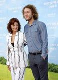 Jack Henry Robbins and Susan Sarandon Stock Photos