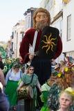 Jack im grünen Festival Hastings 2013 stockbilder