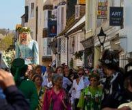 Jack im grünen Festival, Hastings.  2013 stockfoto