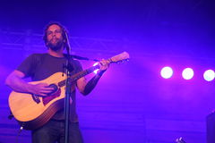 Jack Johnson performing at Somersault Festival 2014 Royalty Free Stock Image