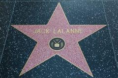 Jack Lalanne Hollywood Star Royalty Free Stock Photos