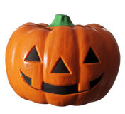 Jack lantern. The ornament of the Japanese pumpkin photoed in the white back Royalty Free Stock Image