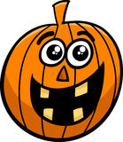 Jack lantern cartoon Stock Image