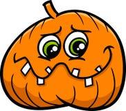 Jack lantern cartoon. Cartoon Illustration of Halloween Jack Lantern Pumpkin Royalty Free Stock Image