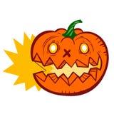 Jack Lantern Pumpkin Image stock