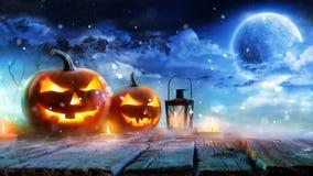 Jack Lanterns Graphics Animation Background vector illustratie