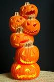 jack lanterns o Στοκ Εικόνες