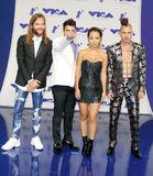 Jack Lawless, Joe Jonas, JinJoo Lee and Cole Whittle of DNCE Royalty Free Stock Image