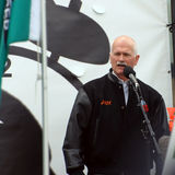 Jack Layton at Forestry Rally Stock Image
