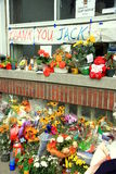 Jack Layton Memorial Stock Photography