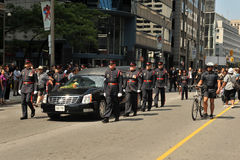 Jack Layton's Funeral Procession Stock Photos